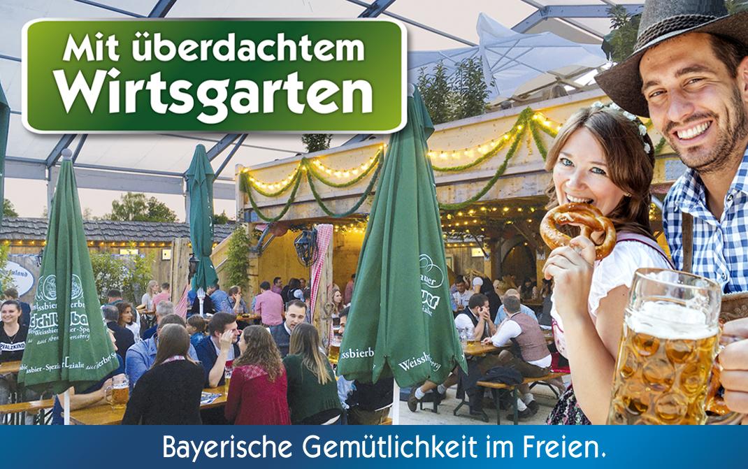 Bayernland Dahoam mit Wirtsgarten in Abensberg 2021