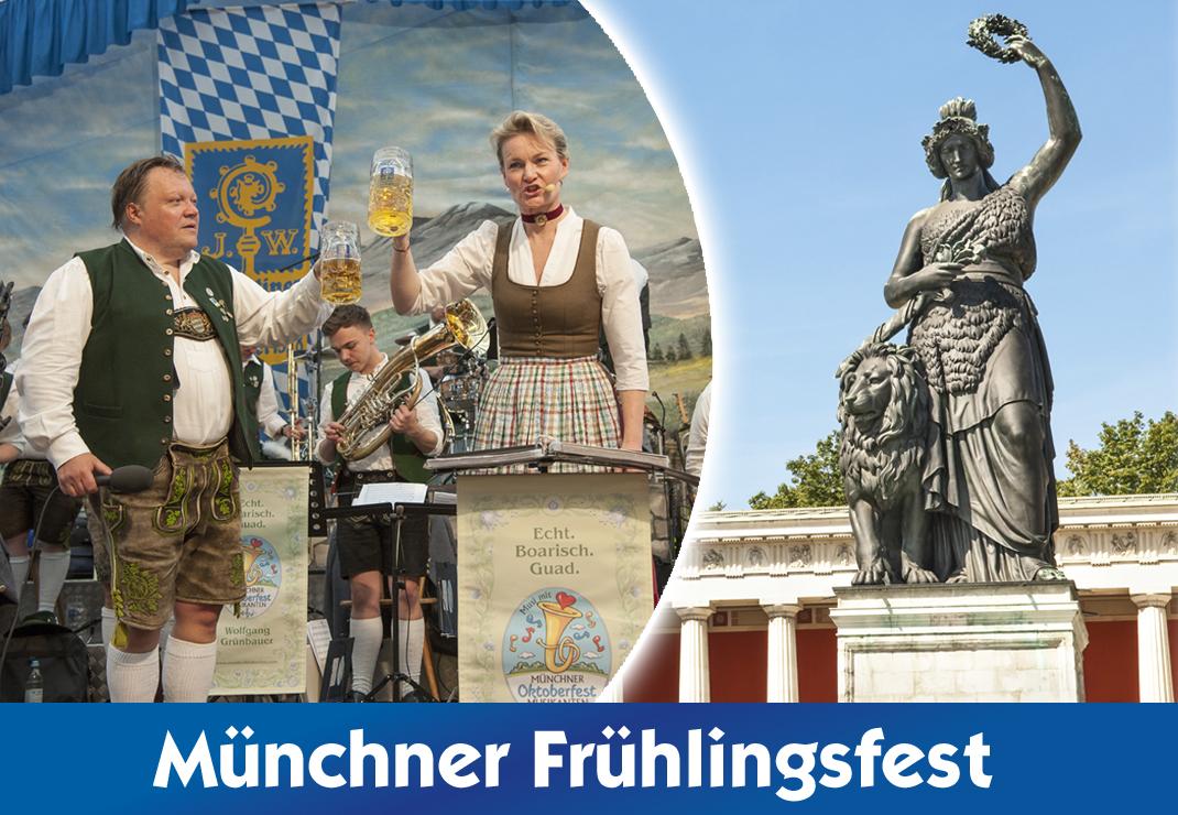 56. Frühlingsfest München in der Festhalle Bayernland - Festzelt - Augustiner Schöniger