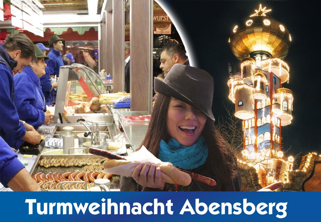 Kuchlbauer´s Turmweihnacht in Abensberg - Schmankerl Treff 2021 Christkindlmarkt Bayern
