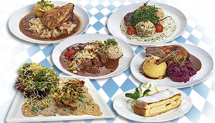 Die Schmankerlküche in der Festhalle Bayernland - Festzelt München, Schöniger