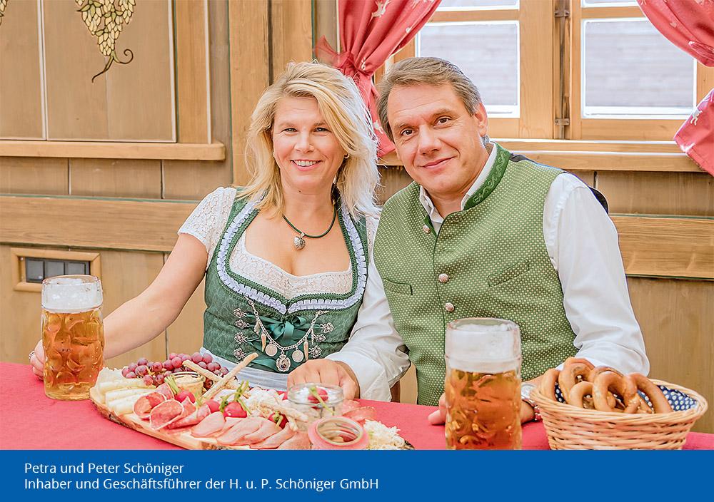 Petra Schöniger und Peter Schöniger - Inhaber und Geschäftsführung